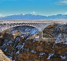 Rio Grande Gorge bridge by Nancy Richard