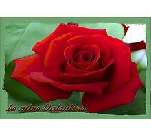 be mine Valentine Photographic Print