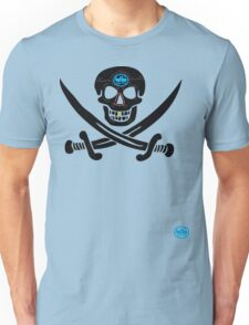 uk pirate sword tshirt by rogers bros T-Shirt