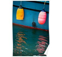 Colorful Reflection Poster