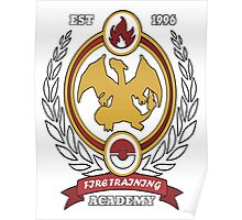 Fire Training Academy Poster