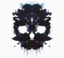 Rorschach Skull Kids Clothes