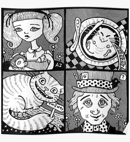 Wonderland Miniatures (Panel 1) Poster