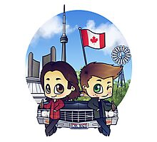 Winchesters in Toronto Photographic Print