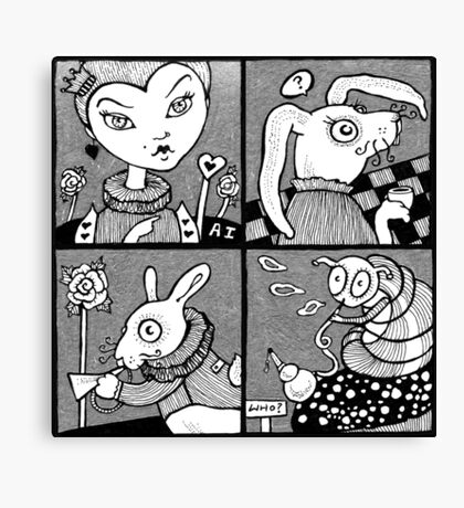 Wonderland Miniatures (Panel 2) Canvas Print