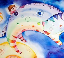 Rainbow Cat! by Natalie Banker