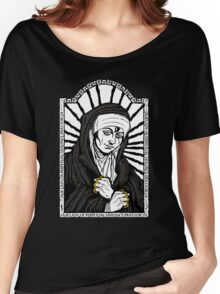 Our Lady of Perpetual Violence Women's Relaxed Fit T-Shirt