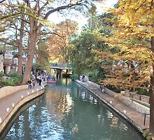 San Antonio Riverwalk by Cathy Jones