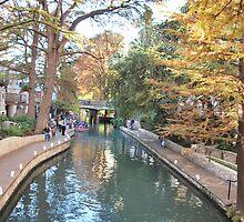 San Antonio Riverwalk by Cathy Jones