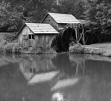 Mabry Mill - Blue Ridge Mountains by Frank Romeo