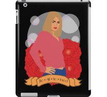 Doctor Who: The girl he loved - Rose Tyler iPad Case/Skin