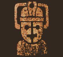 Rusting Cyberman Logo by benthos