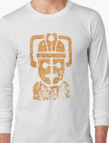 Rusting Cyberman Logo Long Sleeve T-Shirt
