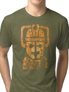 Rusting Cyberman Logo Tri-blend T-Shirt