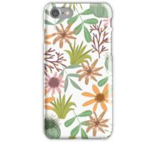 floral pattern exotik flowers iPhone Case/Skin