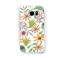 floral pattern exotik flowers Samsung Galaxy Case/Skin