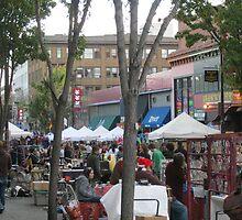 Market scene  by kevin seraphin