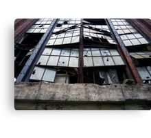 forced entry - factory findings Canvas Print