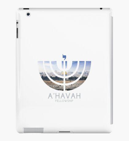 A'HAVAH FELLOWSHIP LOGO (Jerusalem edition) iPad Case/Skin
