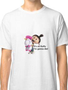 Agnes and Fluffy Unicorn Classic T-Shirt