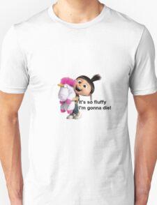 Agnes and Fluffy Unicorn Unisex T-Shirt