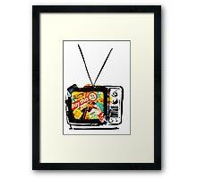 TV Framed Print