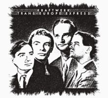 Kraftwerk Trans Europe Express by kmercury
