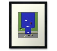 Lost 80s - Where is my River Raid? Framed Print