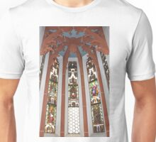 Stained-Glass Church Window Unisex T-Shirt