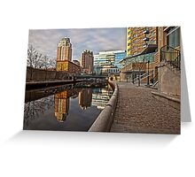 Canal View - Providence, RI Greeting Card