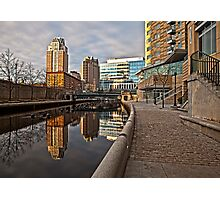 Canal View - Providence, RI Photographic Print