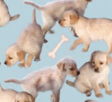 Too Many Puppies Sticker