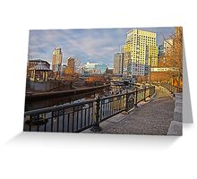 Water Place - Providence, RI Greeting Card
