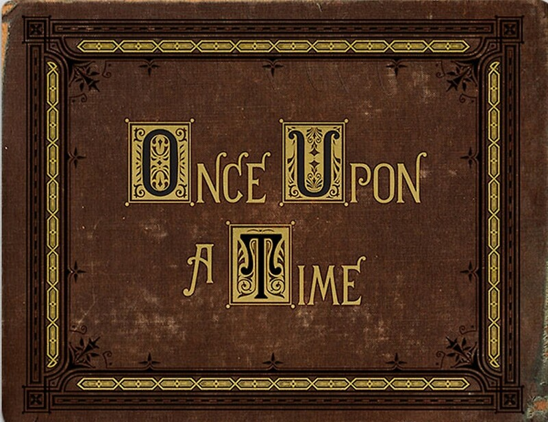 Quot Once Upon A Time Book Quot Canvas Prints By Butterfliest