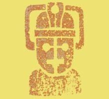 Rusty the Cyberman, Small Chest Emblem Kids Tee