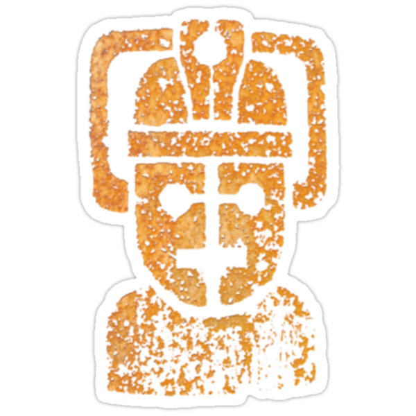 Rusty the Cyberman, Small Chest Emblem by benthos