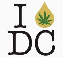 I Dab Washington DC Weed by LaCaDesigns