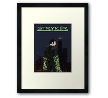 Stryker Poster Framed Print