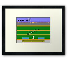 Lost 80s - Where is my Keystone Kappers? Framed Print