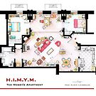 Ted Mosby's apartment from 'HIMYM' by Iñaki Aliste Lizarralde