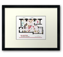 Ted Mosby's apartment from 'HIMYM' Framed Print