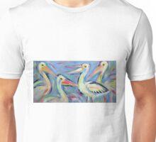 Pelicans - Acrylics Unisex T-Shirt