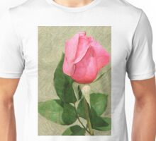 Spring Rose In Colored Pencil Unisex T-Shirt