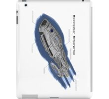 Battlestar Enterprise NX-1701-F iPad Case/Skin