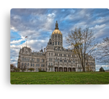 State Capitol Building - Hartford, CT Canvas Print