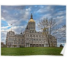 State Capitol Building - Hartford, CT Poster