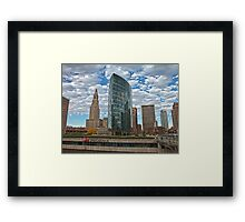 Phoenix Plaza - Hartford, CT Framed Print