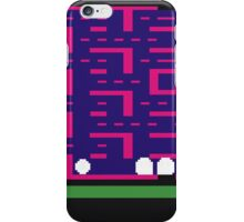 Lost 80s - Where is my Pac-Man? iPhone Case/Skin