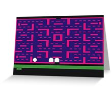 Lost 80s - Where is my Pac-Man? Greeting Card