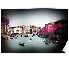Toy Camera in Venice Poster